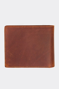 STOPROCENT PORTFEL CLASSIC BROWN LEATHER