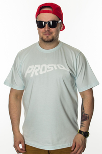 PROSTO T-SHIRT FLOWING ACID BLUE