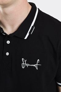 STOPROCENT POLO TAG18 BLACK