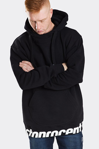 STOPROCENT BLUZA BAGGY Z KAPTUREM BM GET DOWN BLACK