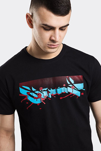 STOPROCENT T-SHIRT TMS SPLASHTAG BLACK
