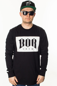 BOR LONGSLEEVE BOR NEW BLACK