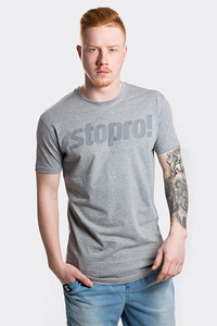 STOPROCENT T-SHIRT TMS STOPRO GREY