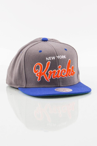 MITCHELL & NESS NEW YORK KNICKS GREY-BLUE