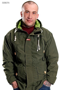 STOPROCENT KW PARKA GREEN