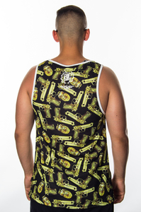 DIIL TANKTOP GOLDEN GUN BLACK