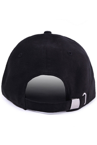 KOKA CZAPKA 6PANEL FAKE BLACK