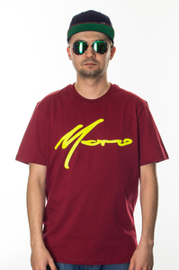 MORO SPORT T-SHIRT PARIS BORDO