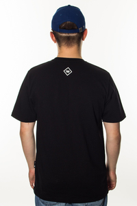 PATRIOTIC T-SHIRT FUTURA MINI BLACK