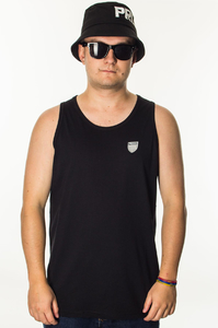 PROSTO KLASYK TANKTOP SHIELD V BLACK