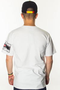DIIL T-SHIRT TABBED WHITE