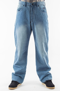 MASS DNM SPODNIE LIGHT JEANS R.34
