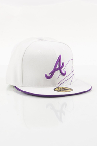 NEW ERA FULLCAP ATLANTA BRAVES WHITE-PINK