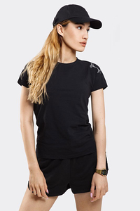 STOPROCENT T-SHIRT TDS SMALLTAG BLACK