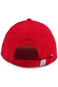 KOKA CZAPKA 6PANEL FAKE RED