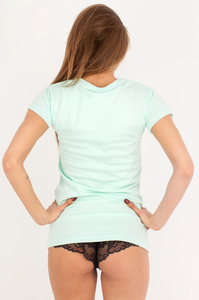EP.GIRLS T-SHIRT MOUTAINS MINT