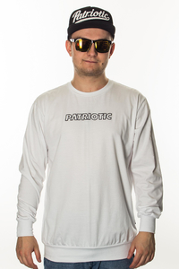 PATRIOTIC LONGSLEEVE FUTURA MINI WHITE