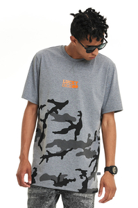 LUCKY DICE T-SHIRT URBAN CAMO GREY