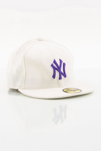 NEW ERA FULLCAP NY WHITE-VIOLET