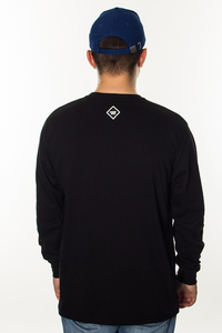 PATRIOTIC LONGSLEEVE P LAUR MINI BLACK