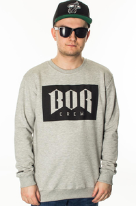 BOR BLUZA BEZ KAPTURA BOR NEW LIGHT GREY