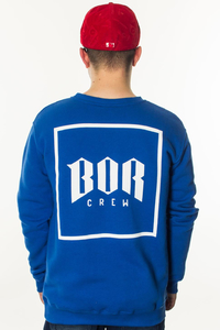 BOR BLUZA BEZ KAPTURA NEW KWADRAT BLUE