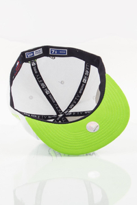 NEW ERA FULLCAP NY WHITE-GREEN