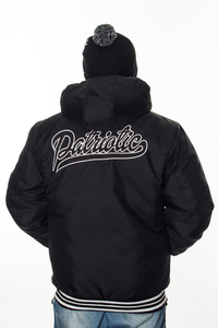 PATRIOTIC KURTKA ZIMOWA SHIELD ATHLETIC HOODY BLACK