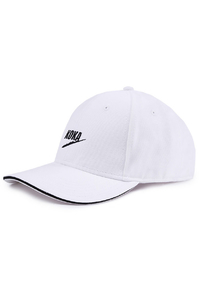 KOKA CZAPKA 6PANEL FAKE WHITE