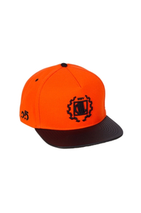 DIIL CZAPKA SNAPBACK CLASSIC ORANGE-BLACK