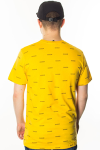 TIW T-SHIRT MULITLOGO YELLOW