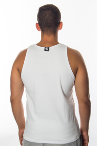 STOPROCENT TANKTOP RIBB CLASSIC16 WHITE