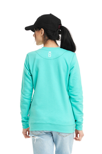 LUCKY DICE BLUZA SIMPLE DICE RND GIRL MINT