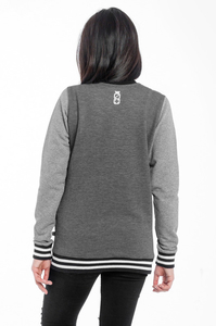 LUCKY DICE DAMSKA BLUZA SIMPLE LAUREL GIRL D.GREY