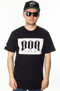 BOR T-SHIRT BOR NEW BLACK