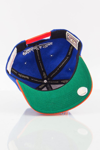 MITCHELL & NESS NEW YORK KNICKS BLUE-ORANGE