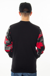 PATRIOTIC CLS SHOULDER BKL RED CAMO