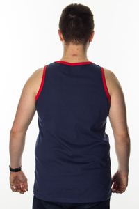 PROSTO TANKTOP CAPTION BASIC NAVY