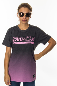 LADY DIIL T-SHIRT TONE GRAPHITE