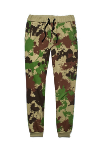 PROSTO PANTS SLIMIT CAMO RED