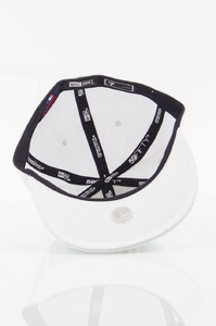 NEW ERA FULLCAP LA WHITE ON WHITE