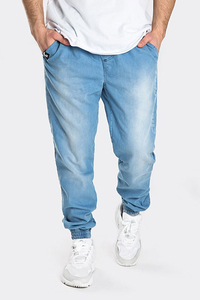 STOPROCENT SPODNIE JOGGER SIMPLE19 BLUE