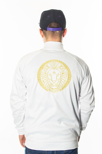 GANJA MAFIA BLUZA FULL ZIP KALION TAPE WHITE/GOLD