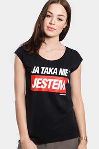 STOPROCENT T-SHIRT TDB TAKA BLACK