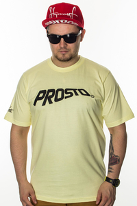 PROSTO T-SHIRT FLOWING ACID YELLOW
