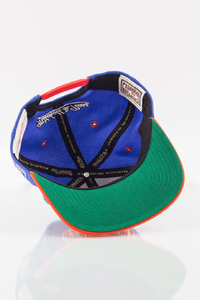 MITCHELL & NESS NEW YORK KNICKS VIOLET-ORANGE
