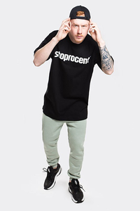 STOPROCENT T-SHIRT TM SIMPLE19 BLACK