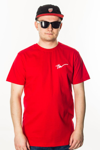 TIW T-SHIRT TAG RED