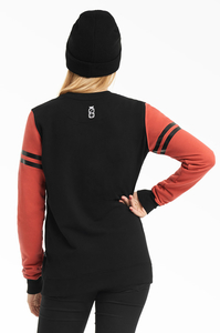 LUCKY DICE BLUZA NEW CREWNECK GIRL BLACK
