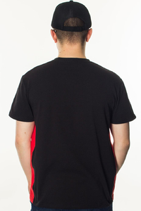 PATRIOTIC T-SHIRT F SLICE BLACK